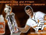 FTTech: Alessandro Magi campione europeo 2012