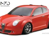 HPI SWITCH - ALFA ROMEO MITO - True Ten Scale Fwd Electric Car