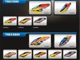 Align - Fusoliere per T-REX 550, T-REX 600 e T-REX 700