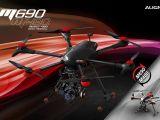 VIDEO: Assemblare il multicottero ALIGN M690L
