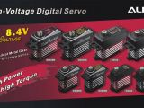 Nuovi servi digitali Align DS535, DS530, DS455 e DS450