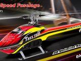 Align Speed Fuselage: Fusoliera per Trex 700e DFC e Pro