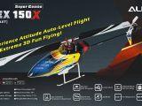 Align T Rex 150 X: elicottero per volo 3D - BizModel