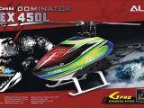 Align T-Rex 450L Dominator 6S - Elicottero per volo 3D