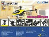 Align Trex 250 3D - Elicottero radiocomandato
