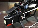 Align Trex 700e V1 e V2 - Nuovo montante pacchi batterie