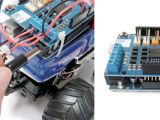 Instructables: Trasformare una macchina RC in un Robot con Arduino Motor Shield