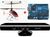 Elettronica Faidate: Pilotare un elicottero RC con i gesti usando Arduino e Kinect della Microsoft