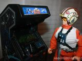 Star Wars Arcade 1983 Atari Mini cabinato in scala 1/6