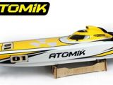 "Motoscafo Radiocomandato brushless Atomik Racing Catamaran - ARC 58"" RTR"