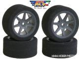 Gomme in spugna ATS Tyres anteriori e posteriori 1/10