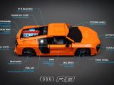 Audi R8 V10 in versione Lego Technic radiocomandata!