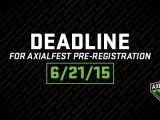 AxialFest 2015: ancora pochi giorni per iscriversi.