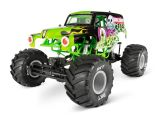 Axial Grave Digger Monster Jam Truck 4WD - Video