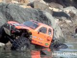 Rock Crawler Axial Honcho con gomme Pro-Line 2.2 Interco TSL SX Super Swampers