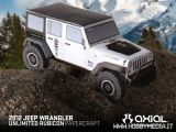Axial Papercraft: Modello di carta Jeep Wrangler Unlimited