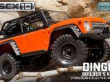 Axial SCX10 Builder Kit con carrozzeria Dingo - Robitronic