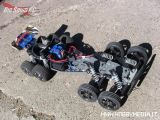 Traxxas Bandit VXL - Buggy versione custom a 8 ruote!