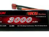 Pacco batteria LiPo 7,4 V 3000mAh 35/70C - Kypom