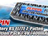 Batterie Lipo Zeppin RS ELite 7,4v 7400mha 80/160C