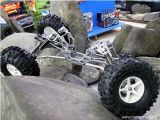 CKRC Crawler Rock It - Telaio regolabile per BERG 1:8 