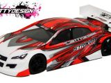 BittyDesign Striker-SR: carrozzeria per Touring Car 200mm