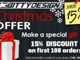 BittyDesign: promozione natalizia per i primi 100 ordini