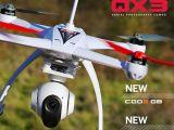 Drone Blade 350 QX3 AP Combo con videocamera CGO2 GB 5.8GHz da 16 megapixel