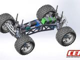 CEN Blazing 6S Monster Truck in scala 1/8 - SCORPIO