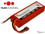 Yuki Model Batterie LiPo 2S, 3S e 4S Brainergy da 5200 mAh