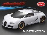 Bugatti Veyron: carrozzeria in scala 1/10 della Matrixline