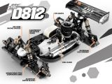 Hot Bodies D812: la buggy in scala 1/8 campione del mondo