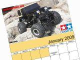 Calendario 2009 - Gennaio - Tamiya