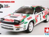 Calendario 2009 Agosto - Tamiya Castrol Celica '93 - TT01E Monte Carlo Rally RC RTR