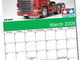 Il Calendario di Modellismo della Tamiya - Marzo 2009