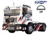 Camion Radiocomando MAN 2WD RTR con radio Cougar PS3 2,4 GHz - Thunder Tiger