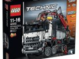 Camion Lego Technic Mercedes-Benz: modello alternativo