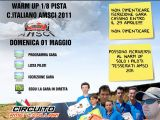 AMSCI: Campionato Italiano 1/8 Pista 2011 - RME Cassino