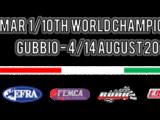 Programma di gara Campionato Mondiale 1/10 TC IFMAR