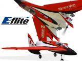 E-Flite Carbon Z Scimitar PNP e BNF: Aeromodello acrobatico con ali a delta