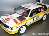 Carisma Audi Rally Quattro: Carrozzeria Touring Car 1/10 Fiera del giocattolo di Norimberga 2011 - FlightTech Italia