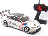 Carisma GT14 Rahal Letterman BMW M3 GT2 Sport Car in scala 1/14 con radiocomando 2.4GHz