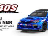 Carisma M40S Subaru WRX STI NBR 2013 in scala 1/10