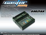 Caster Racing Fusion PRO 5 e Pro 6 - Carica/Scarica batterie NiCd - NiMH - LiIo - LiPo - LiFe