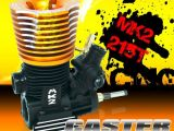 Caster Racing MK2 215T - Motore a scoppio per Buggy e Truggy