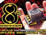 Regolatore di velocità Castle Creations Sidewinder 8 ESC