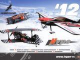 Catalogo HYPE 2012: Aerei radiocomandati, scafi da corsa, servocomandi, motori e regolatori brushless
