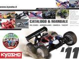 Catalogo Kyosho 2011: Automodellismo, aeromodellismo e barche radiocomandate