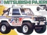 Tamiya Mitsubishi Pajero Wheelie: Kit in scatola di montaggio