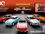 Quattroruote diecast - Collezione del centenario Alfa Romeo